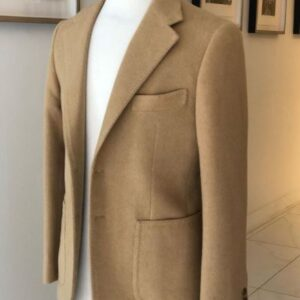 Camel hair jacket