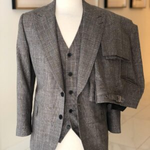 three piece loro piana suit