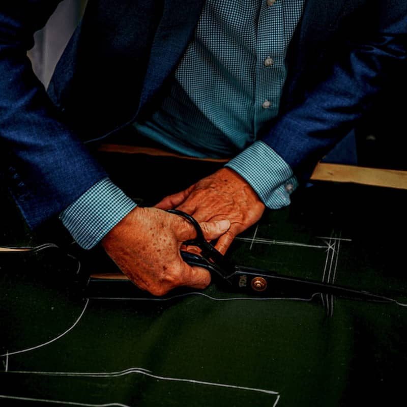 Brenton and co Bespoke Handcut Made-To-Measure Suiting in Toronto's Yorkville Village