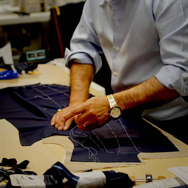 Brenton and co Bespoke hand stitched Tailored suites in Toronto's Yorkville Village