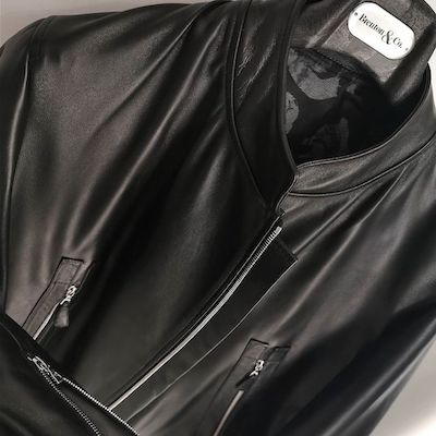 Leather Cafe Racer Jacket from Toronto's Brenton & Co.